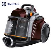 《伊萊克斯Electrolux》(買就送)臥式插電雙通道旋風鎖塵吸塵器 ZUF4303REM  (送清潔組KIT11)