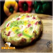 《極鮮配》6.5吋彩色pizza披薩 (180g/包)  多種口味 任選(白醬野菇-12包入)