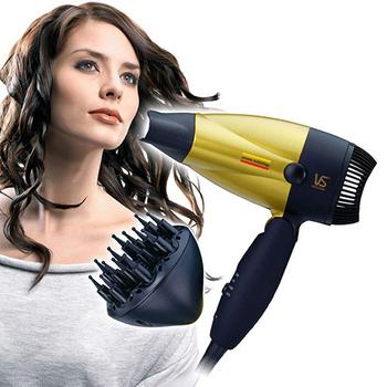 《沙宣VS》1300瓦特陶瓷摺疊吹風機 VS157RDRW