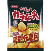 《卡辣姆久》平切洋芋片-勁辣唐辛子口味(153g/包)