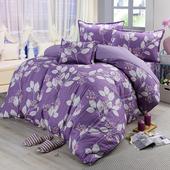 《Victoria》純棉加大五件式床罩組-香榭(6x6.2尺)