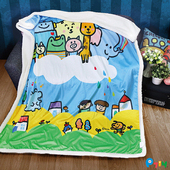 P714水晶羊羔絨雙面攜帶毯(150x200cm)