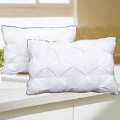 法式手工雲絲枕(2顆)(48x74cm)