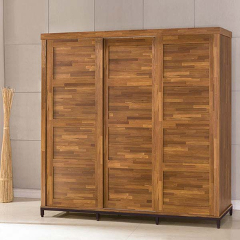 《Homelike》洛基工業風7x7附鏡衣櫃