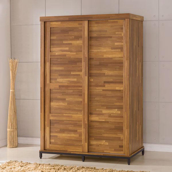 《Homelike》洛基工業風5x7附鏡衣櫃