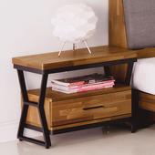 《Homelike》洛基工業風床頭櫃