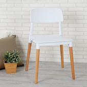 《Homelike》艾里北歐風餐椅(純淨白)