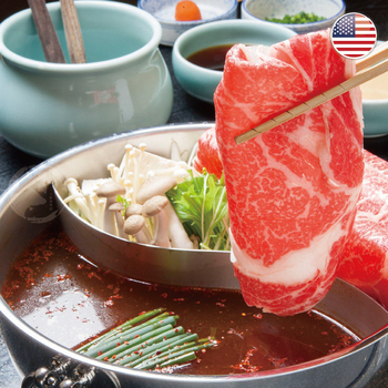 《欣明生鮮》美國藍帶 雪花牛 火鍋肉片(200g±10%/盒)(*4盒)