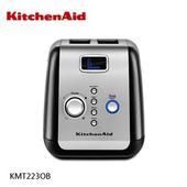 《KitchenAid》按壓式雙槽烤麵包機 KMT223 (黑色) KMT223OB