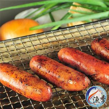 ★結帳現折★漁季 紅麴鱈魚香腸 (400g/包)(3包)