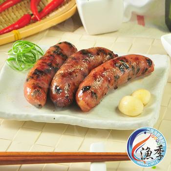 漁季 木耳鱈魚香腸 (400g/包)(3包)
