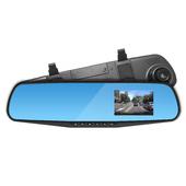 《IS愛思》RV-01 防眩光後視鏡高畫質 行車紀錄器(黑)