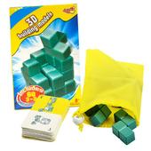 《艾可兒》益智桌遊-3D小巨蛋建築模型/索瑪立方塊