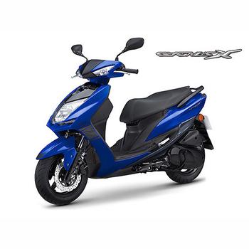 YAMAHA山葉 新勁戰CygnusX FI 125雙碟-日行燈版-2018年新車(深藍深灰(運動風))