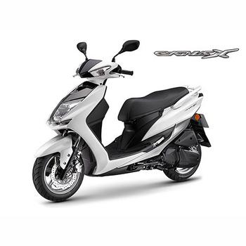 YAMAHA山葉 新勁戰CygnusX FI 125雙碟-日行燈版-2018年新車(白灰)