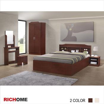 ★結帳現折★RICHOME 哥倫布4件套房組-2色(樓層費另計)(白橡色)