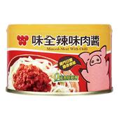 《味全》辣味肉醬(150g*3罐)