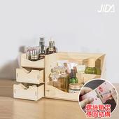 《佶之屋》木質DIY多功能抽屜式收納盒(橡木)
