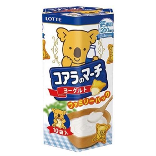 樂天 小熊餅家庭號優格風味(195g)