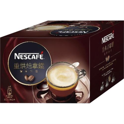 《雀巢》咖啡二合一重烘焙拿鐵(22g*30包/盒)