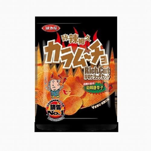 卡辣姆久 厚切洋芋片-勁辣唐辛子口味(78g/包)