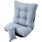 《actuel》舒適和室椅-附靠枕58*45CM/60*12CM(藍色)