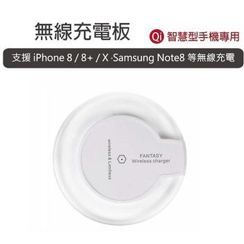 《RASTO》WIR001 智慧型手機專用 水晶Qi無線充電板(白)