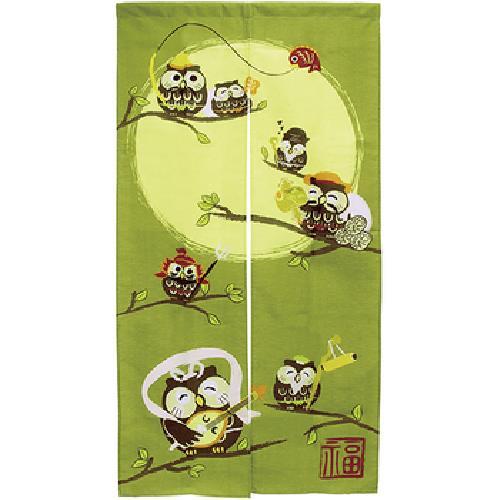 七福神印花門簾85x170cm