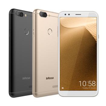 InFocus M7S (3G/32G) 5.7吋全螢幕大電量智慧機【贈-玻璃保護貼】(黑色)