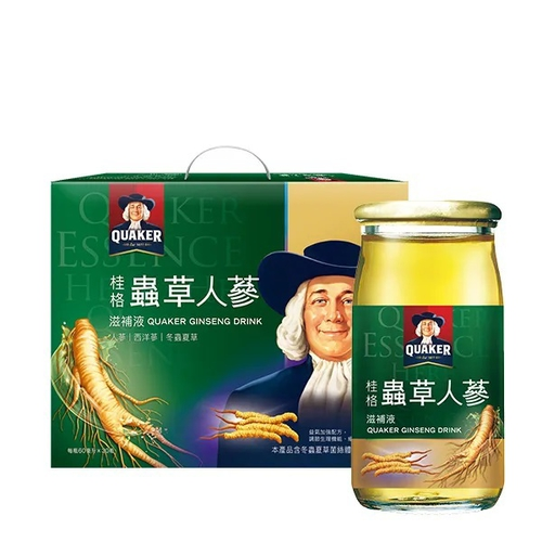 桂格 冬蟲夏草養氣人蔘滋補液 免運(60ml*16瓶/盒)