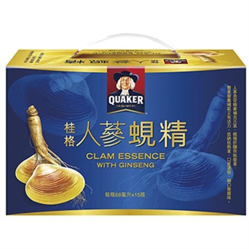 桂格 人蔘蜆精 免運(68ml*15瓶/盒)