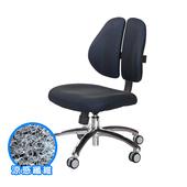 《GXG》涼感纖維 雙背椅 (鋁腳/無扶手) TW-2980LUNH(請備註顏色)
