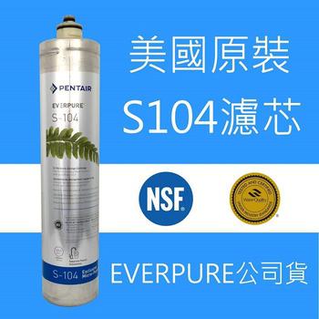 EVERPURE PENTAIR EVERPURE Pentair 濾心 S-104 美國原裝公司貨 有雷射標籤 S104 濾芯