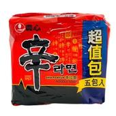 《農心》辛拉麵5入(600g)