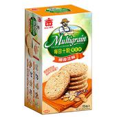《義美》每日十穀養生餅-椰香芝麻(285g/盒)