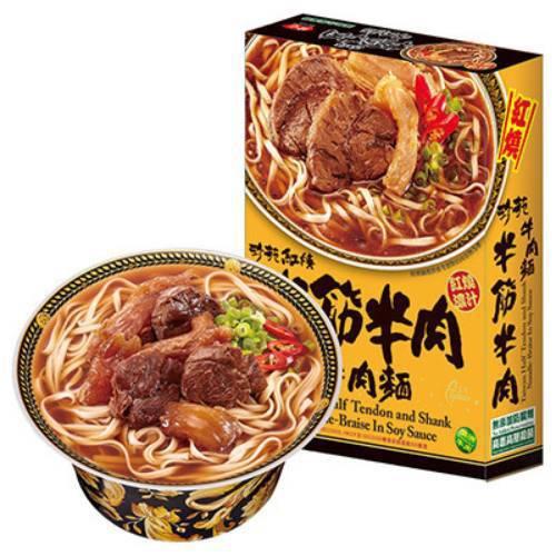 珍苑 紅燒半筋半肉牛肉麵(470g)