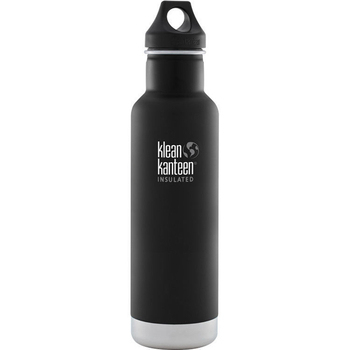 《美國Klean Kanteen》經典不鏽鋼瓶-消光黑(K20VCPPL-SB) 20oz/592ml