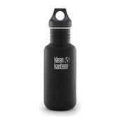 《美國Klean Kanteen》經典不鏽鋼瓶-消光黑(K18CPPL-SB) 18oz/532ml