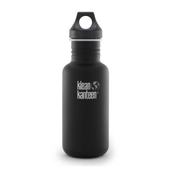 美國Klean Kanteen 經典不鏽鋼瓶-消光黑(K18CPPL-SB) 18oz/532ml