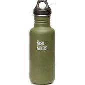 《美國Klean Kanteen》經典不鏽鋼瓶-消光綠(K18CPPL-GF) 18oz/532ml