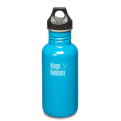《美國Klean Kanteen》經典不鏽鋼瓶-島嶼藍(K18CPPL-CI) 18oz/532ml