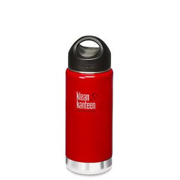 《美國Klean Kanteen》寬口不銹鋼保溫瓶-桑格紅(K16VWSSL-SR) 16oz/473ml
