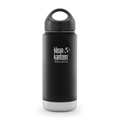 《美國Klean Kanteen》寬口不銹鋼保溫瓶-消光黑(K16VWSSL-SB) 16oz/473ml