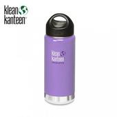 《美國Klean Kanteen》寬口不銹鋼保溫瓶-薰衣紫(K16VWSSL-LT) 16oz/473ml