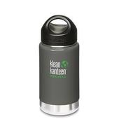 《美國Klean Kanteen》寬口不銹鋼保溫瓶-海鳥灰(K12VWSSL-AG) 12oz/355ml