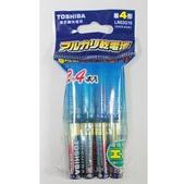 東芝鹼性電池12+4入(4號)