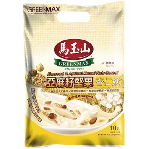 馬玉山 亞麻籽堅果杏仁飲(28gx10包)
