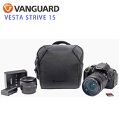 《VANGUARD 精嘉》唯它星圖 15 攝影側背包 Vesta Strive 15