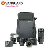 《VANGUARD 精嘉》唯它黑匣 38 攝影雙肩包Vesta Start 38