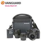 《VANGUARD 精嘉》唯它黑匣 21 攝影側背包 Vesta Start 21